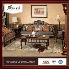 Customized Wholesale Price Reproduction Antique Sofa Set,Royal Furniture Sofa Set In China