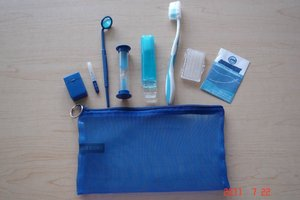 Orthodontic & oral hygiene kit #09