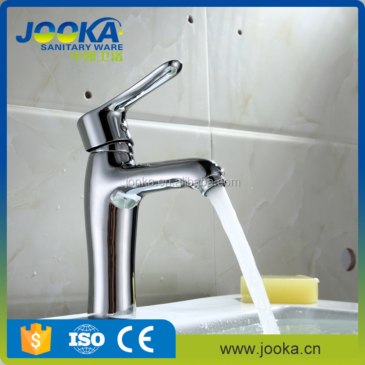 quality assurance long neck pull down basin mixer tap with single hole
