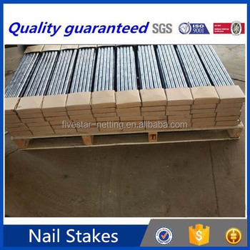 Steel Round Nail Stakes With Hole For Concrete Forms - Buy Round Nail  Stakes,Nail Stakes For Concrete Forms,Steel Nail Stakes Product on  Alibaba com