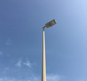 20m High Mast Flood Light Pole With Galvanization And