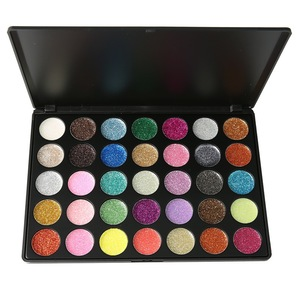 Private Label Palette Gel Makeup Pigment For Private Label Glitter Liquid Eyeshadow