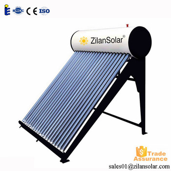 80l cheap nonpressure jamaica solar hot water heater