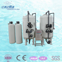 Back Flushing Multimedia Active Carbon Filter For Industrial Wastewater Processing