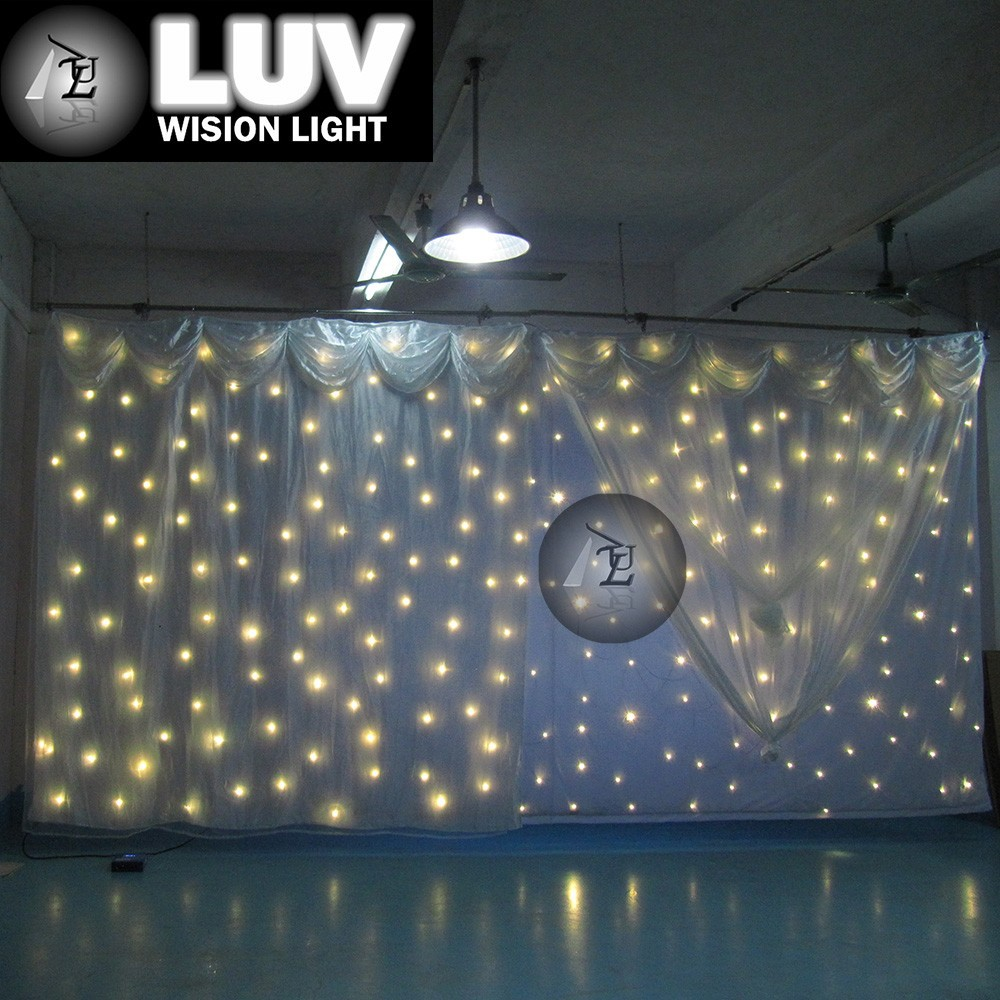 China Supplier Wedding Backdrop Curtain