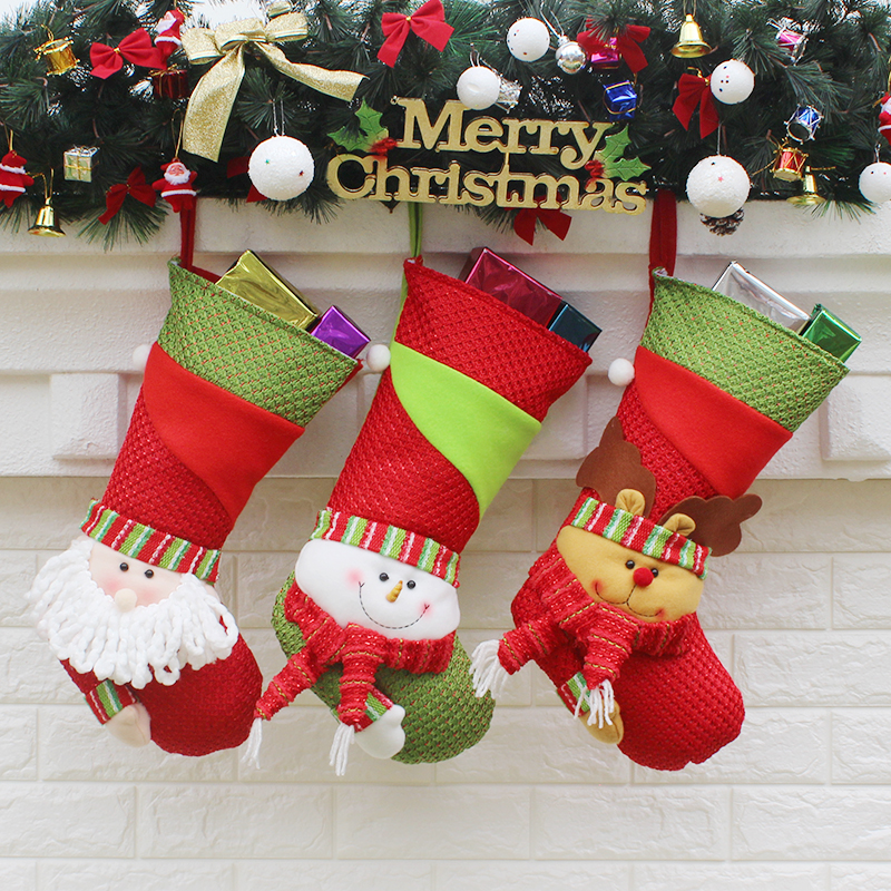 Traditional Designer Christmas Stockings Personalized Family Kids ...