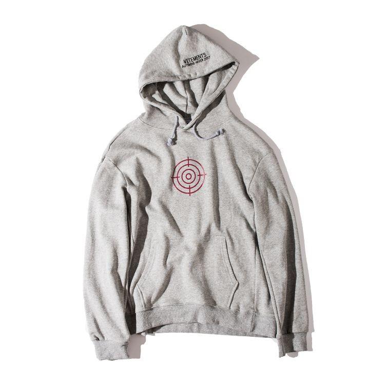 66fee4c3814 2019 Vetements Oversized Sweatshirts Men Women Hoodies 2016 Top Version  Oversize Drooping Shoulders Gun Club Cotton Fashion Men Tops From  Interfly168, ...
