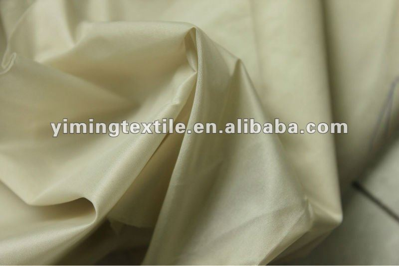 china supplier wholesale 100% polyester Taffeta fabric