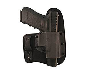 CrossBreed Holsters - Freedom Carry (IWB) Holster for Glock 17/19/22/23/25/31/32/34/35 - Black