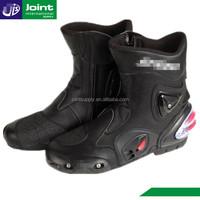 waterproof leather ladies motorcycle shoes motorbike racing boots for women