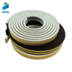 EPDM RUBBER self adhesive D shape rubber weatherstip seal