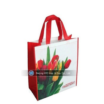 assorted colors non woven reusable kids carrying shopping grocery