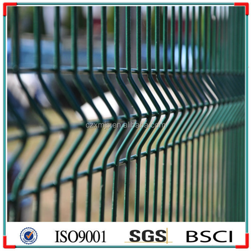PVC Coated metal fence/galvanized security fence/highway protection fence