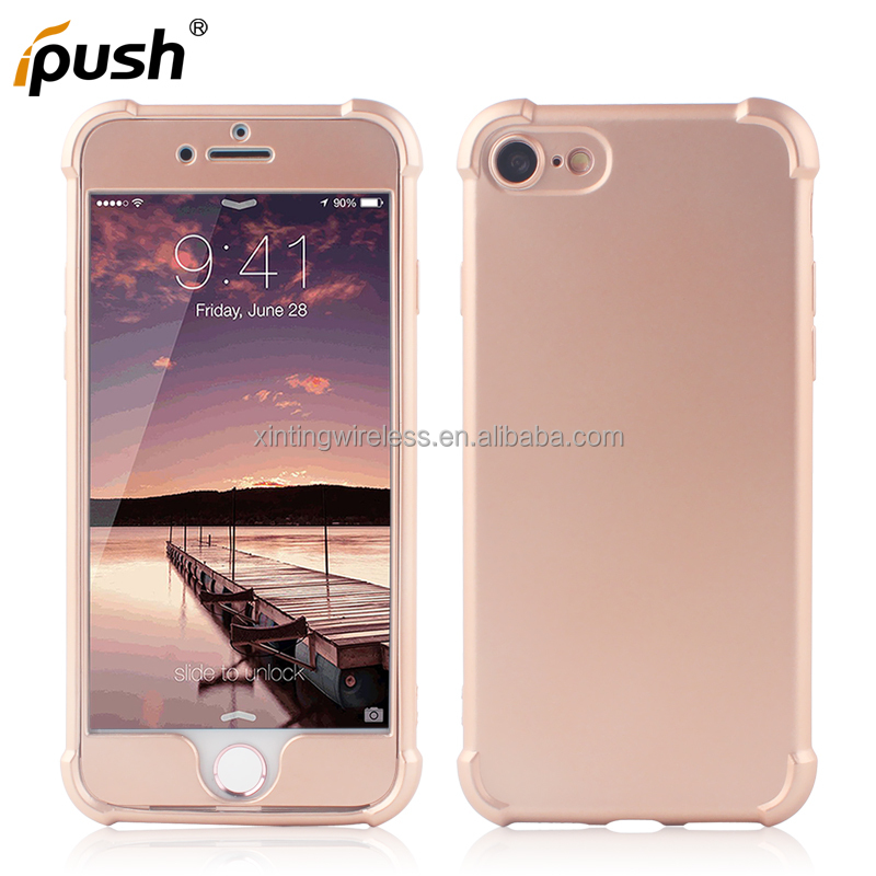 Best selling phone accessories mobile case for apple iphone 7 pc tpu shockproof back cover case for iphone oil printing case