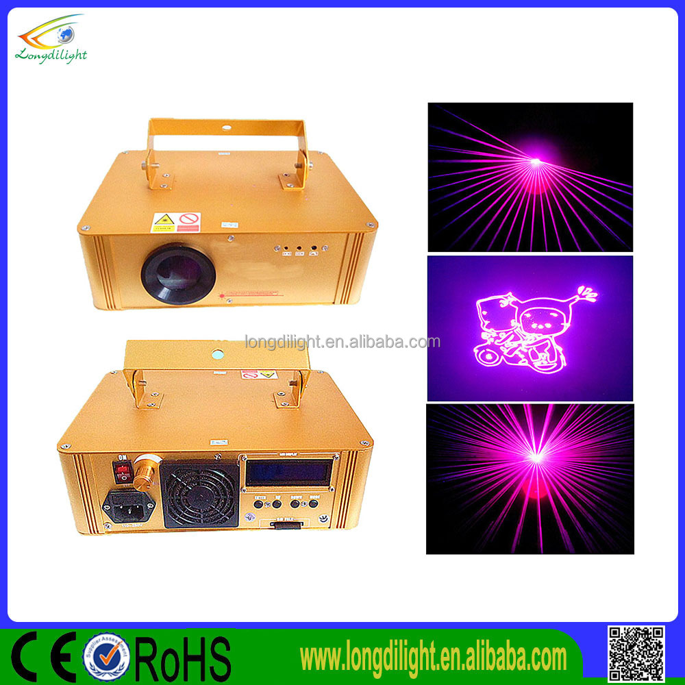 Programmable Laser Projector 2w Rgb Multi Color Catoon Disco Light Or Family Party Light Show With Ilda Excellent In Cushion Effect Stage Lighting Effect