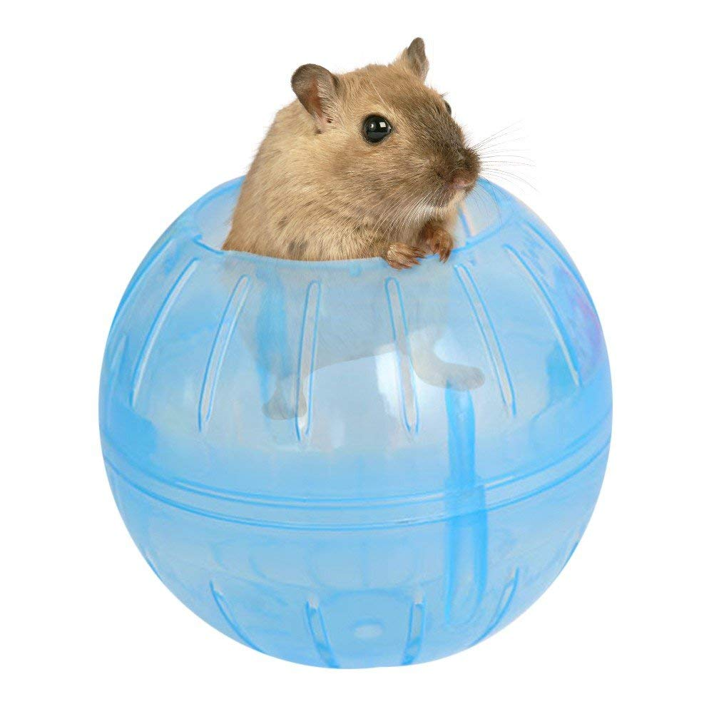 PanDaDa Hamster Running Ball Small Animals Exercise Wheels Ball Pet Play Exercise Jogging Ball