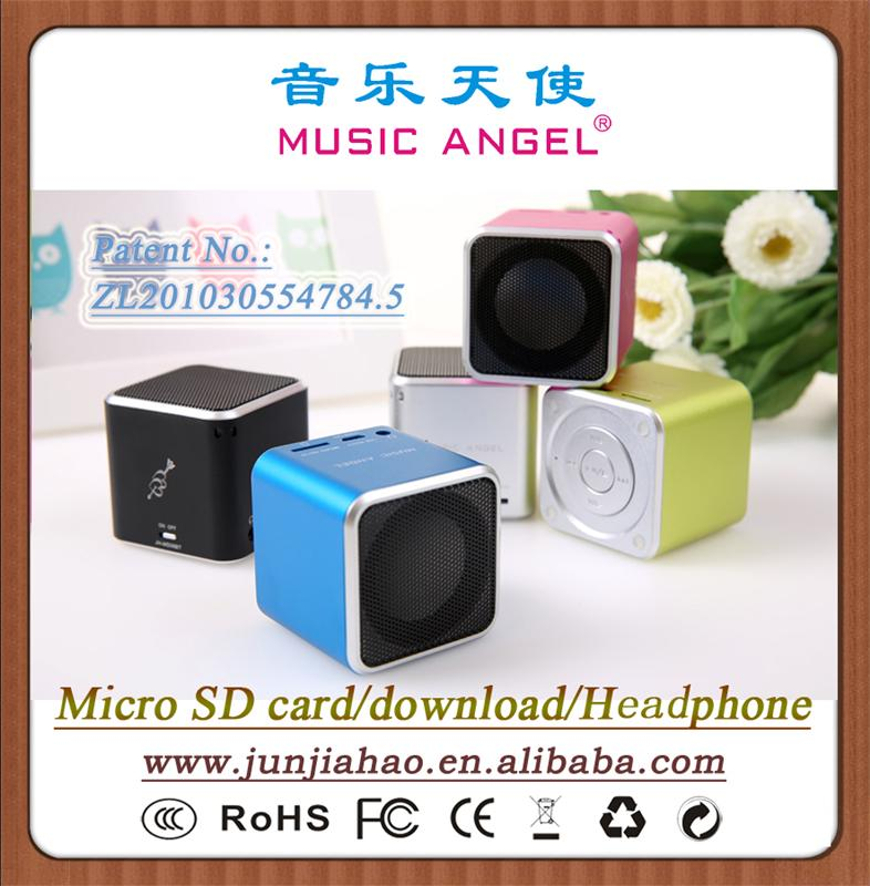 MUSIC ANGEL JH-MD06D OEM laptop speaker wireless new gadgets 2014