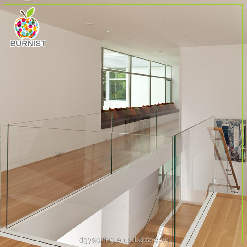 High Quality Custom Handrail/Guardrail Toughened Clear <strong>Glass</strong>