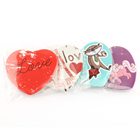 VOGRACE NO MAQ 싼 wholesale 핀 badge, custom heart shape buttons 싼 custom loveky cute 만화 애니메이션 heart 생 badge