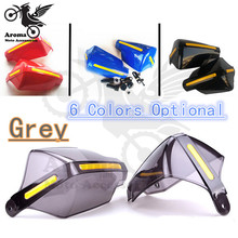 high quality Motorcycle Handguard for yamaha MOTOCROSS DIRT BIKE ATV SCOOTER hand guard Plastic Reflective Accessories hot sale