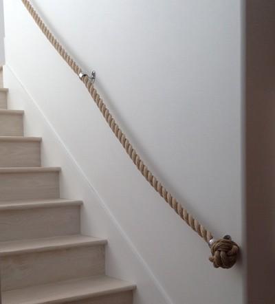 ss de acero inoxidable escaleras pasamanos cuerda barandilla