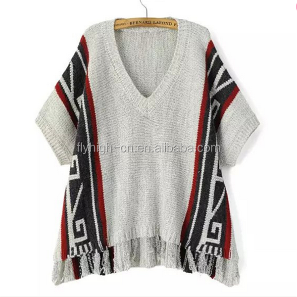 custom wholesale organic cotton bamboo deep V neck short sleeve sweaters