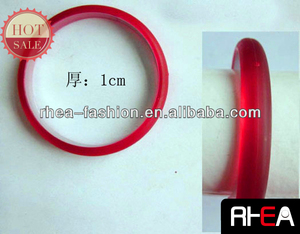 2014 New Trend Fashion red Resin Bangle