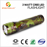 Best-selling Portable Carry Pocket Black Aluminum Matal Small Powerful Bright Dry Battery Operated Cree led emergency light