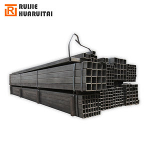 Low price square tube steel 40x40, low price slightly oiled rhs steel tube thickness 1.0mm to 2.0mm