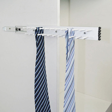 Belt Rack Closet Tie Rack for ties and scarf organization Wardrobe accessories Closet hardware