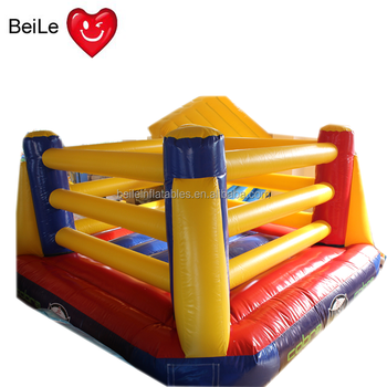 Kids Inflatable fighting ring boxing