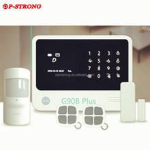 2017 Hot Sale Best Security Shopping Mall Anti-theft Alarm With IP Camera Home Burglar System