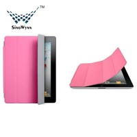 Ultra Thin Magnetic Cover and Back Case for Apple iPad Air 2 / iPad 3 / iPad 4