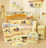 100% organic cotton baby crib bedding set