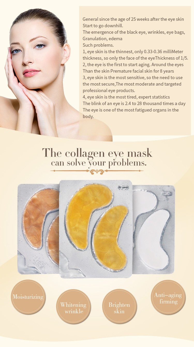 24K Pure Gold Collagen Eye patch