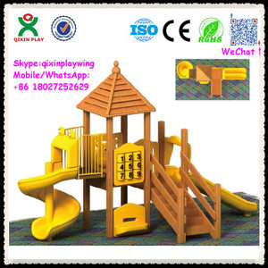 Best playsets for backyard best outdoor toys for boys residential outdoor playground equipment QX-074B