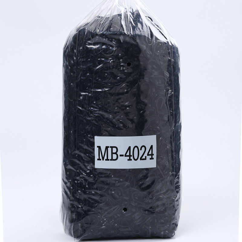 black TPU rubber band manufacture cheap hair rubber band 1KG