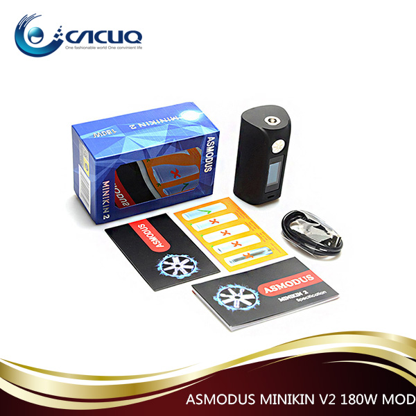 Low price good sale Asmodus minikin V2 180W Box 100% original mod wholesale