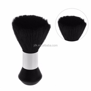Big Size Neck Makeup Brush Goat Body Cosmetic Neck Duster Brushes For Salon