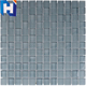 Grey textured glass mosaic for swimming pool tile cheap mosaic