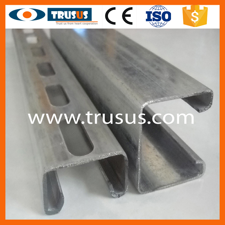 Cable Management Of Galvanized U Shaped Drywall Track Fast Delivery Fabric U Shape Runner Stud