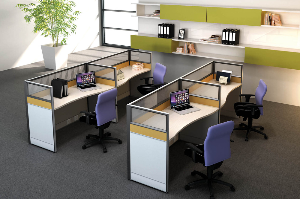 3 Person Godrej Office Furniture For Executive Luxury