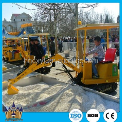 China exclusive entertainment electric Children excavator / Best selling kids excavator
