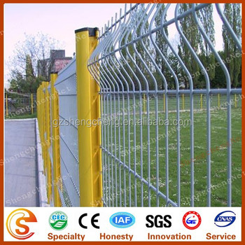 Motorway Fence Steel Concrete Fence With Base Plate Or Bury Into