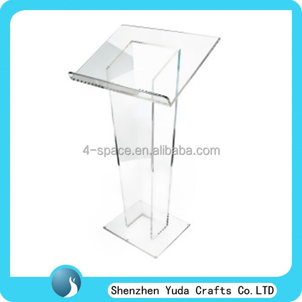 Traditional Styling Acrylic Lectern For Ministry