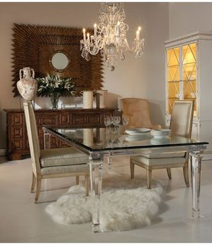 Fashionable Living Room Furniture Sets Acrylic Glass Dining Table Chair With Wheels And Cushion Buy Living Room Furniture Centre Glass Table Round