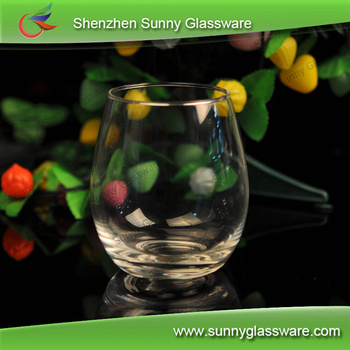 factory wholesale stocked clear glass tumbler