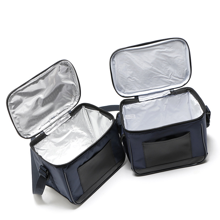 MTX best price PU solid blue thicken multifunctional food <strong>delivery</strong> cooler bag