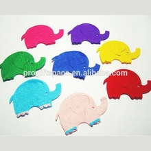 2018 Gestanzte Fühlte Baby Elephant Für <span class=keywords><strong>Ostern</strong></span> DIY Kit applique made in China