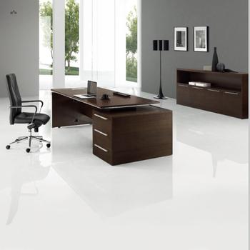 Nueva Oficina Moderna Muebles Última Oficina Mesa De Cristal Diseños  Escritorio Ejecutivo - Buy Escritorio Ejecutivo,Último Escritorio De  Oficina De ...
